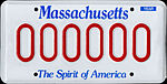 MA sample registration plate